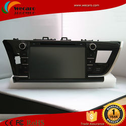 Wecaro Android 4.4 Wholesale Car Dvd Gps For Toyota Corolla 2014 With Bluetooth Usb SD Radio TV