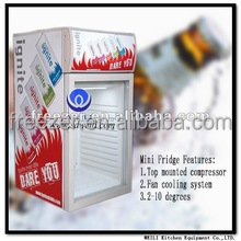 SC50 Hot Sale WEILI Desktop Cold Drinks Small Display Cooler