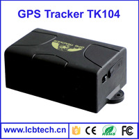 Waterproof Long Standby Time Realtime GSM/GPRS/GPS Car Vehicle Tracking /tracker Quad Band TK104