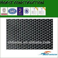 Horse black woven carbon fibre reinforcement