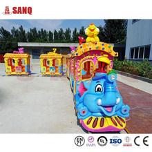 Kids Ride Track Train, Kids Mini Train Ride, Amusement Rides Road Train