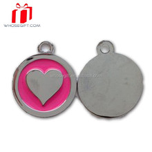 High Quality Heart Shape Dog Tag,Heart Shaped Metal Tag,Pet Id Tags