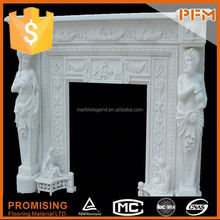 China best price stone fireplace craft carving