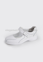 China 4cm heel height wholesale cheap pure white leather nurse shoes