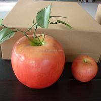 Christmas decoration artificial fruit large plastic apple