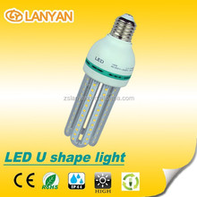 Cheap price 4u 15w energy saving led lamp for home/office/school/hall warranty 2 years