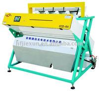 CCD peeled mung bean color sorter machine