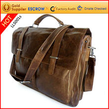 Brand guangzhou vintage genuine leather handbags 2012