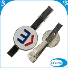 Promotioal gifts metal bow tie clip with custom logo