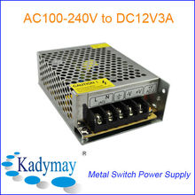 Modern&Adjustable 12V 3A Switching Power Supply Adaptor, By best Manufacturer&Supplier