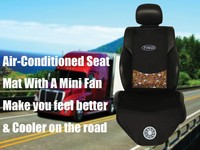 FHSD Air Conditioned Car Seat Cover with Fans , Seat Mat for Lorry , Van and Truck