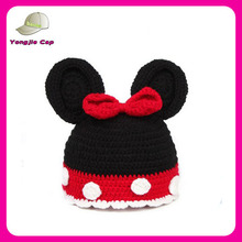 2014 fashion winter knitted hats wholesale hand knitted children hat