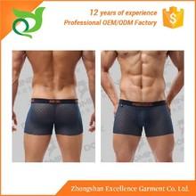 Chinese export hip brief comfortable cotton mesh underwear for men