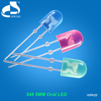Excellent heat dissipation round 5mm rgb led dip