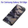 Bulk buy in China Camouflage leather mobile phone case for s6 edge leather case