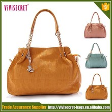 wholesale stock genuine pu leather Diamond building line handbags stocklots/embroidered shoulder bag with chain handle