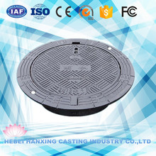 EN124 Drainage System Manhole Cover/ Round Water Meter Manhole Cover