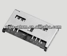 Mobile Phone Dual SIM Card 6pin H=3.8mm Connector