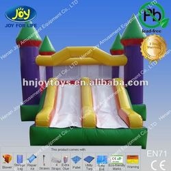 Great Inflatable Castle Moon Bounce/Bouncy Castle with Slide