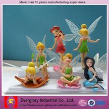 Hot sale Beautiful fairy plastic figure toy, beautiful fairy toy,fairy costume girl doll
