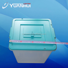 China wholesale high quality pp material plastic case for voting