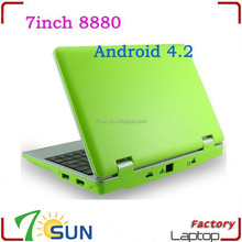 "NEW 7"" NETBOOK MINI LAPTOP WIFI ANDROID 4GB NOTEBOOK used laptops in bulk"