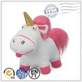 el precio de fábrica personalizada de dibujos animados grande de peluche unicornio