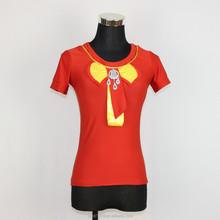 Wholesale Custom Women sport T-shirt Latest Fashion Beaded butterfly Patchwork LQ41WC03090 T-shirt