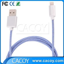 Top quality micro usb cable for iphone4 stretchable cable/ mfi cable for iphone5