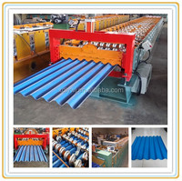 aluminium composite roof and wall panel machine roll forming equipment