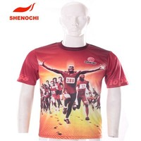 sublimation clothing made in china sportswear t-shirt Eco-Friendly T-shirt