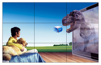 Factory made Samsung panel wall mount lg lcd tv for advertising
