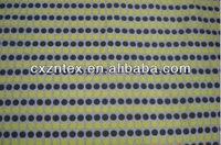 fabric satin polka dot with yellow and black