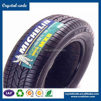 custom printed strong glue rubber silicone heat resistant tire label