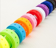 2014 French Branded Colorful Plastic Rubber Golf Belts with Factory Price