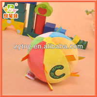 Factory OEM soft plush baby ball toy