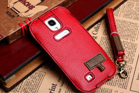 For samsung galaxy s4 SIV I9500 Red Neck Strap Sleeve Case Pouch Bag For men ,for girl