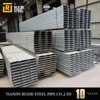 Galvanized c profile/c profile steel for construction