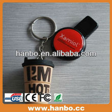 custom logo print cup usb flash memory bulk promotional
