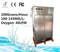 200G/H Professional 100~145MG/L ozone generator used on water treatment