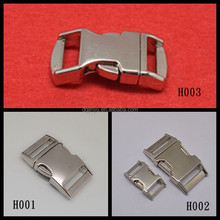 silver buckle ,metal buckle for handbags,paracord metal buckle