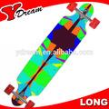 los niños y adultos de arce canadiense patineta longboard venta al por mayor