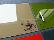 Magnetic glass memo board,glass notice board, message board 2015
