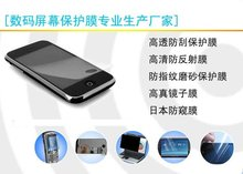 Clear /mirror/privacy/anti-grease screen protector