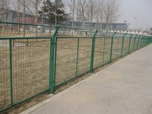 low price products PVC coated welded wire mesh fence