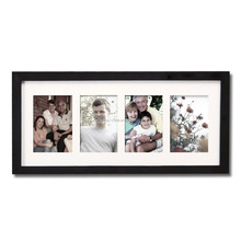 China Manufacturer Supply 4 Openings Collage Moving Photo friendship Christmas Picture mat frame