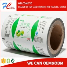 Plastic laminated shampoo sachet packaging film roll