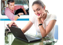 Bluetooth Smart Watch Bracelet Wristwatch D8 for Samsung HTC Xiaomi Android Phone With Pedometer