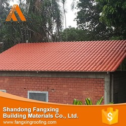 2015 hot selling products roofing materials spanish tile