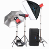 compact photo studio light tent kit K lights